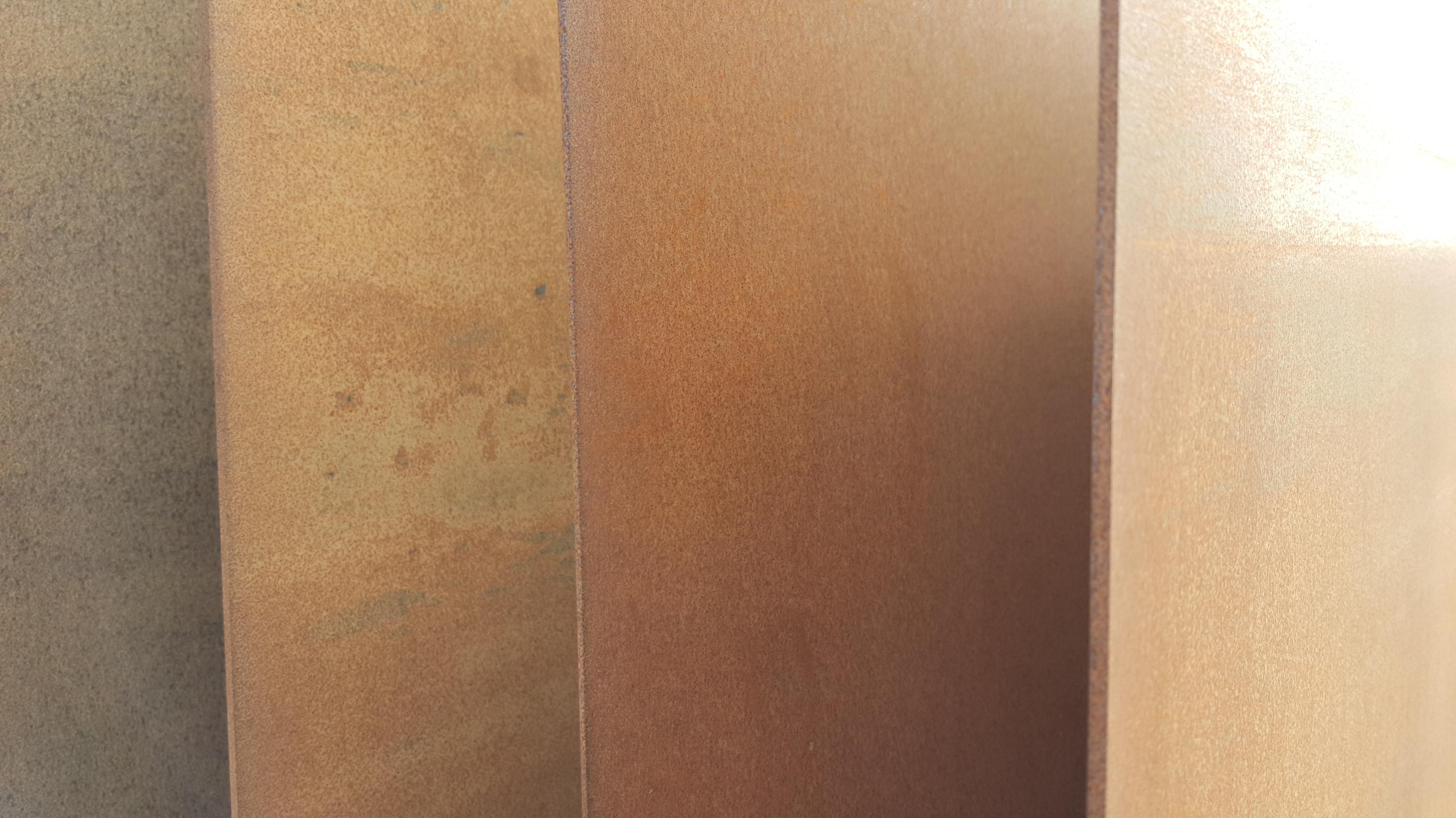 Cortenstål plader